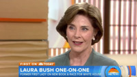 VIDEO: Laura Bush Talks Nancy Reagan, Race for White House & More on TODAY