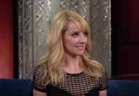 VIDEO: 'Big Bang's Melissa Rauch Was Inspired By Sylvester Stallone