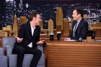 VIDEO: Clive Owen & Jimmy Sip Guinness to Celebrate St. Patrick's Day on TONIGHT