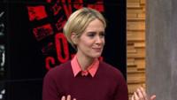 VIDEO: Sarah Paulson Talks Portraying Marcia Clark on AMERICAN CRIME STORY