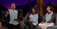 VIDEO: James Corden Has a 'Mouthguard Chat' with Melissa McCarthy & Kristen Schaal