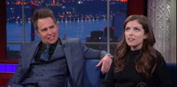 VIDEO: Anna Kendrick & Sam Rockwell Had to Make Out Vigorously in Their New Film