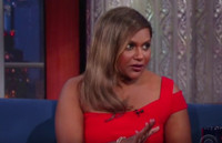 VIDEO: Mindy Kaling Has Some Issues with Stephen Colbert