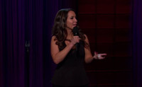 VIDEO: Comedian Rachel Feinstein Performs Stand-Up on LATE LATE SHOW