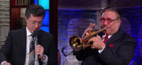 VIDEO: Arturo Sandoval & Stephen Colbert Have 'Trumpet Off' on LATE SHOW