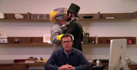 VIDEO: Stephen Colbert Hopes Abe Lincoln & Robert E. Lee Can Reunite North Carolina