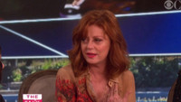 VIDEO: Susan Sarandon Talks Ping Pong, Prince & Remembers David Bowie on THE TALK