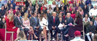 VIDEO: Donald Trump Joined By Wife & Family for TODAY Town Hall