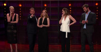 VIDEO: Charlize Theron, Emily Blunt, Chris Hemsworth & Jessica Chastain Play 'Cell Phone Profile' on CORDEN