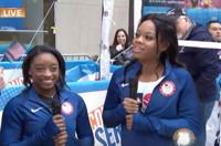 VIDEO: Gabby Douglas and Simone Biles Talk Road to Rio Olympics on TODAY