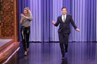 VIDEO: Gisele Bundchen Passes the Runway Model Torch to Jimmy Fallon