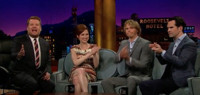 VIDEO: Ellie Kemper, Eric Christian Olson and Jimmy Carr Visit LATE LATE SHOW