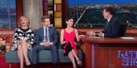 VIDEO: Colbert Asks GOOD WIFE Cast 'Isn't It Time for a Woman to Be a Total Sleaze?'