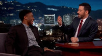 VIDEO: Chadwick Boseman Talks 'Captain America'; Playing James Brown & More on KIMMEL