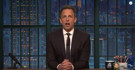 VIDEO: Seth Discusses Healthcare on LATE NIGHT