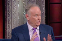 VIDEO: Bill O'Reilly Gets Heated Discussing the 2016 Election with Stephen Colbert