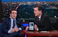 VIDEO: Stephen Tries Out B.J. Novak's li.st App on LATE SHOW