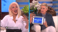 VIDEO: Sneak Peek - Christina Aguilera Channels Adele, Rihanna & More on ELLEN