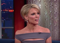 VIDEO: Megyn Kelly Talks Her 'Dark Year' Facing Off Against Trump on LATE SHOW
