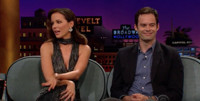 VIDEO: Kate Beckinsale & Bill Hader Visit LATE LATE SHOW