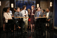 VIDEO: Lonely Island, Greta Gerwig & More Perform 'Second Chance Theatre' on LATE NIGHT