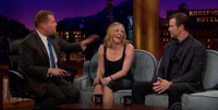 VIDEO: Chelsea Handler &  Peter Krause Visit LATE LATE SHOW
