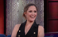 VIDEO: Rose Byrne Reveals She's Actually Australian on LATE SHOW