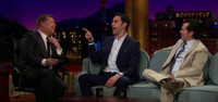 VIDEO: Sacha Baron Cohen & John Leguizamo Visit LATE LATE SHOW