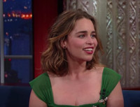 VIDEO: Stephen Colbert Learns Emilia Clarke Is NOT the Mother of Dragons