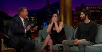 VIDEO: Jim Sturgess & Anne Hathaway Visit LATE LATE SHOW