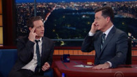 VIDEO: Stephen and James McAvoy Read Minds on LATE SHOW