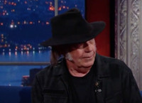 VIDEO: Legendary Artist Neil Young Visits LATE LATE SHOW