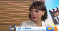 VIDEO: Rashida Jones Talks Return of 'Angie Tribeca' on TODAY