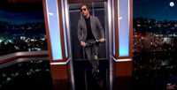 """VIDEO: Thomas Middleditch Rides a Scooter on the """"Silicon Valley"""" Set on KIMMEL"""