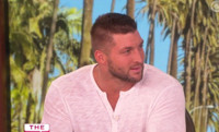 VIDEO: Tim Tebow Opens Up On Book 'Shaken' & NFL Cut on THE TALK