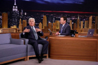 VIDEO: Jay Leno Slams Trump & More During TONIGHT SHOW 'Tag-In' Monologue