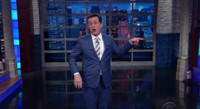 VIDEO: Colbert Celebrates Chaos in Trump Campaign with New Summer Dance Craze 'The Trump Bump'