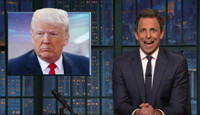 VIDEO: Seth Meyers Takes a Closer Look at Republicans Running from Donald Trump