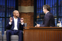 VIDEO: Finesse Mitchell & Seth Meyers Recall Their SNL Days on LATE NIGHT