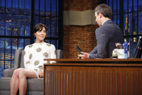 VIDEO: Aubrey Plaza Talk New Film 'Mike and Dave Need Wedding Dates' on LATE NIGHT