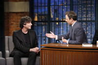 VIDEO: Neil Gaiman Talks Upcoming TV Adaptation of His Novel 'American Gods' on LATE NIGHT