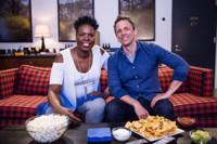 VIDEO: Seth Meryers and Leslie Jones Watch GAME OF THRONES Together