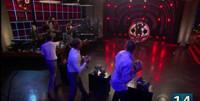 VIDEO: Rob Gronkowski, Luke Wilson & Liev Schreiber Take Aim at Target James Corden