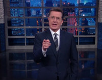 VIDEO: Stephen Colbert Says 'Thank You Congress For Sitting On Your Asses'