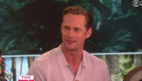VIDEO: TARZAN's Alexander Skarsgard Discusses Sex Scenes In Trees on 'The Talk'