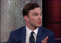 VIDEO: Nicholas Hoult Talks New Movie 'Equals' on LATE SHOW