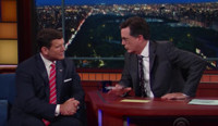 VIDEO: Bret Baier Defends Fox News Chairman Roger Ailes on LATE SHOW