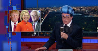 VIDEO: Stephen Colbert Shares One Final Tribute to Bernie Sanders on LATE SHOW