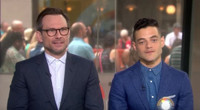 VIDEO: MR. ROBOT's Christian Slater, Rami Malek Preview Season 2 on 'Today'