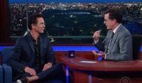 VIDEO: 'Chopped' Fan Benjamin Bratt Compares Cooking Notes with Stephen on LATE SHOW